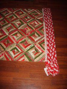 quilt Noël + bordures