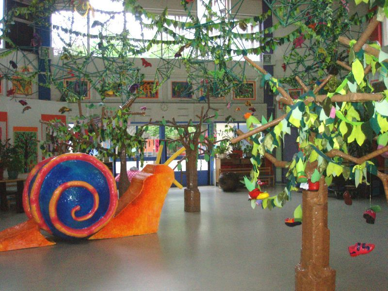 Decoration kermesse ecole for Decoration jardin maternelle