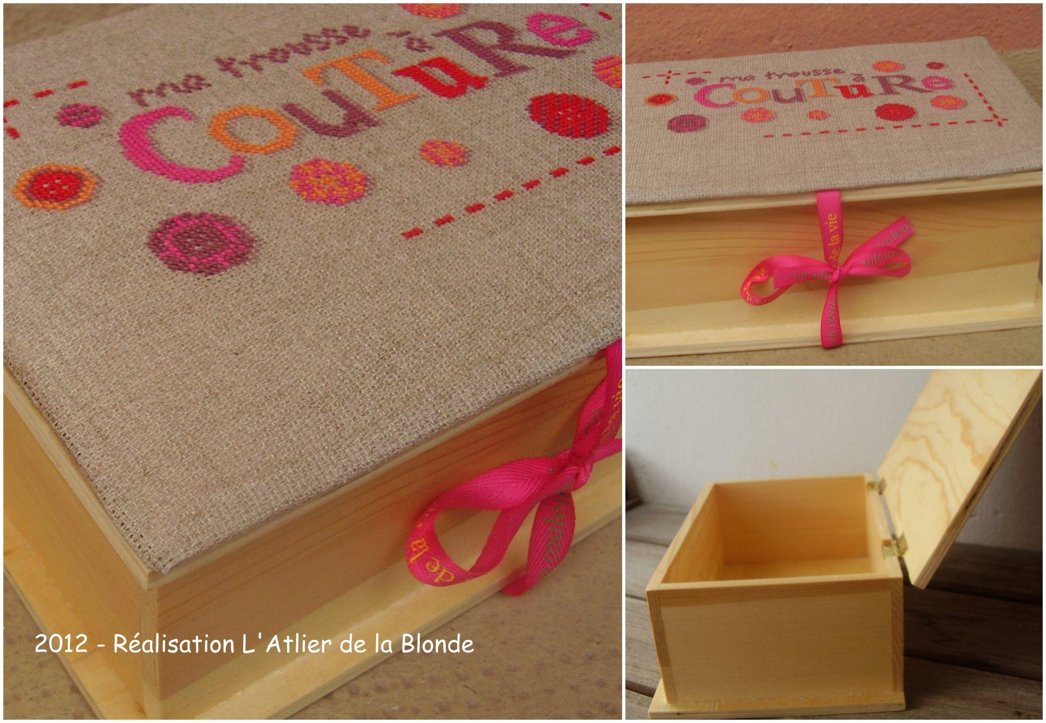 dans la s rie broderie l 39 atelier de la blonde. Black Bedroom Furniture Sets. Home Design Ideas