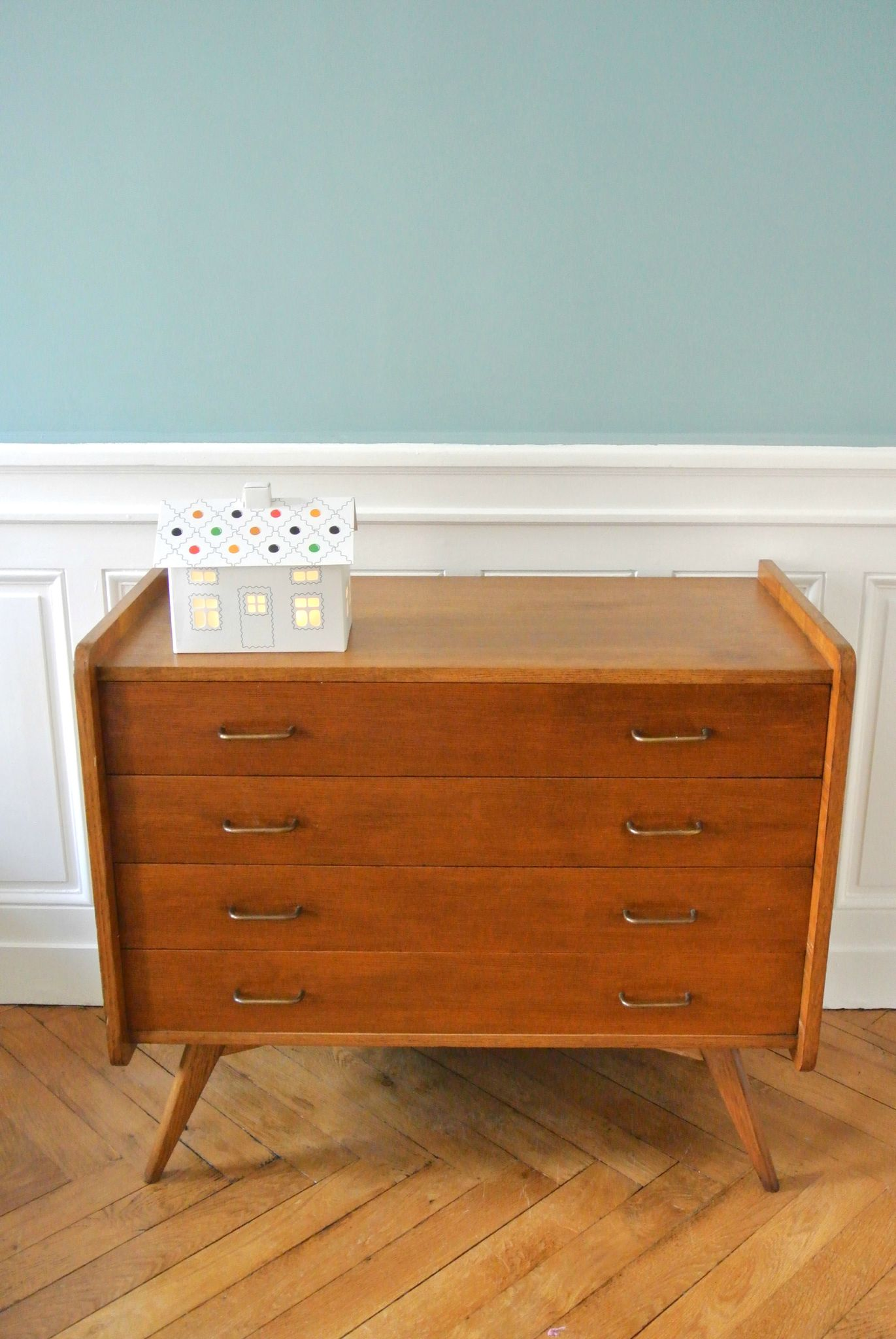 commode vintage 50