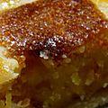 Celle qui aimait le combava: tarte frangipane au combava, marmelade d'oranges amères et chocolat blanc