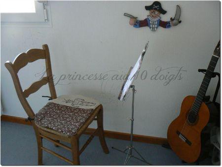 galette de chaise robot