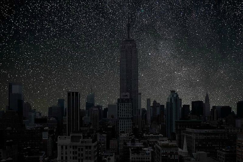 new_york_darkened-cities-by-thierry-cohen