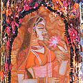 • Art textile - india book