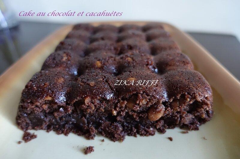 cake choco cacahuètes7