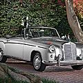 1960 Mercedes-Benz 220 SE Convertible. 