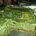 Lasagnes aux orties façon rahmspinat mit mehlscwitze