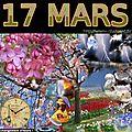 mois de MARS 17