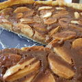 Tarte crmeuse aux pommes et aux Carambars