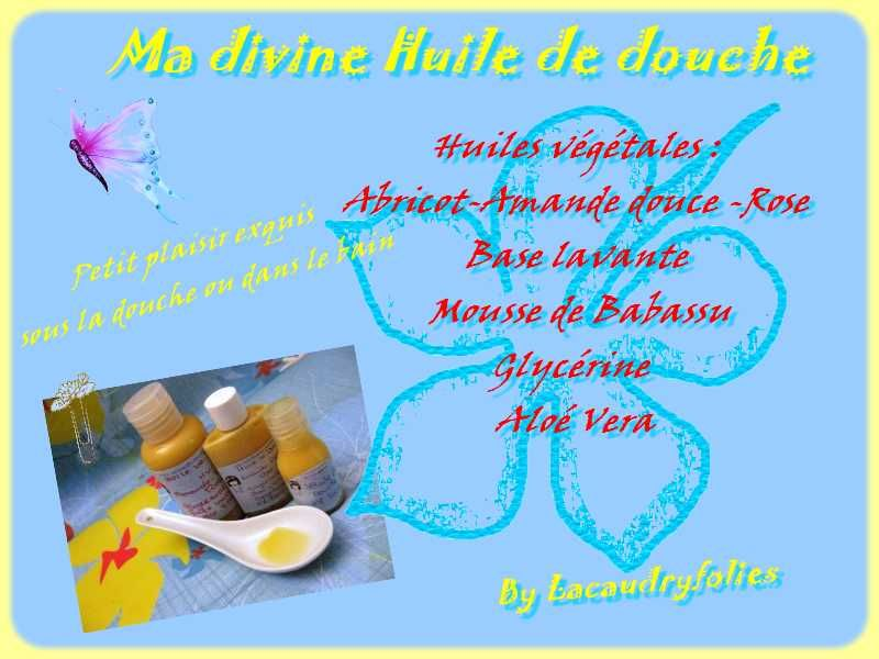 HUILE DE DOUCHE DIVINE