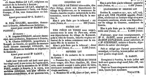 Presse Journal de Pontivy 1889_4