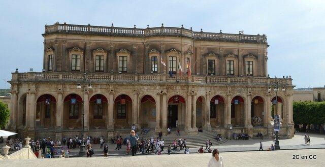 Palazzo Ducezio - Mairie - Noto - Sicile