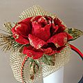 Fascinators - red, red, red...
