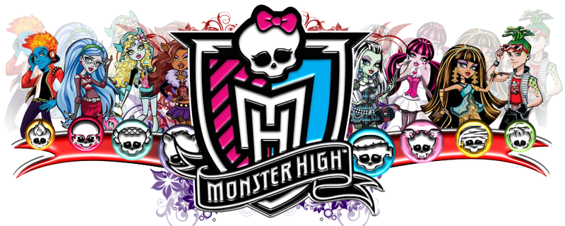 Banner Monster high Anniiversaire