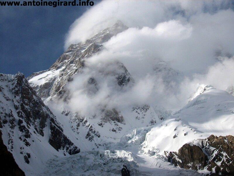 vent sur K2