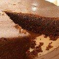 Gâteau n°1 pour mamina: gâteau chocolat-noix de coco aux épices douces