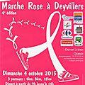 4ème édition de la marche rose à deyvillers - dimanche 4 octobre 2005
