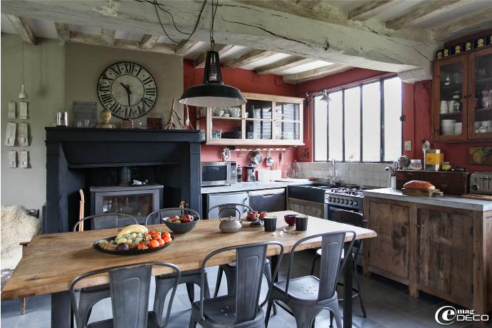 longere vintage sur e magdeco comme un air champ tre. Black Bedroom Furniture Sets. Home Design Ideas