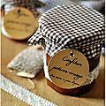 ☆ calendrier de l'avent : 1 cadeau gourmand par jour ☆ jour 18 : confiture de potiron à l'orange et aux épices à pain d'épices