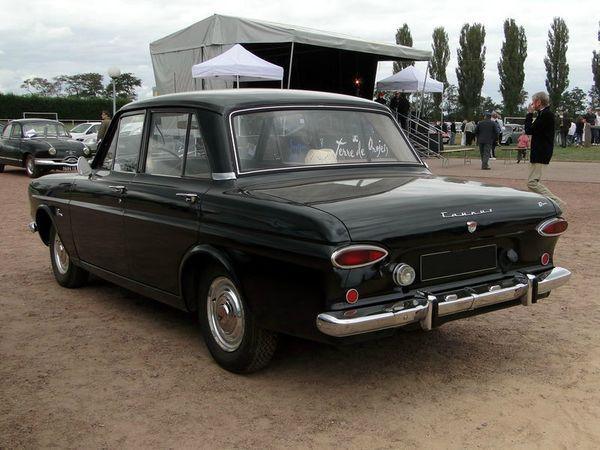 ford taunus 12m p4 4 portes 1962 d