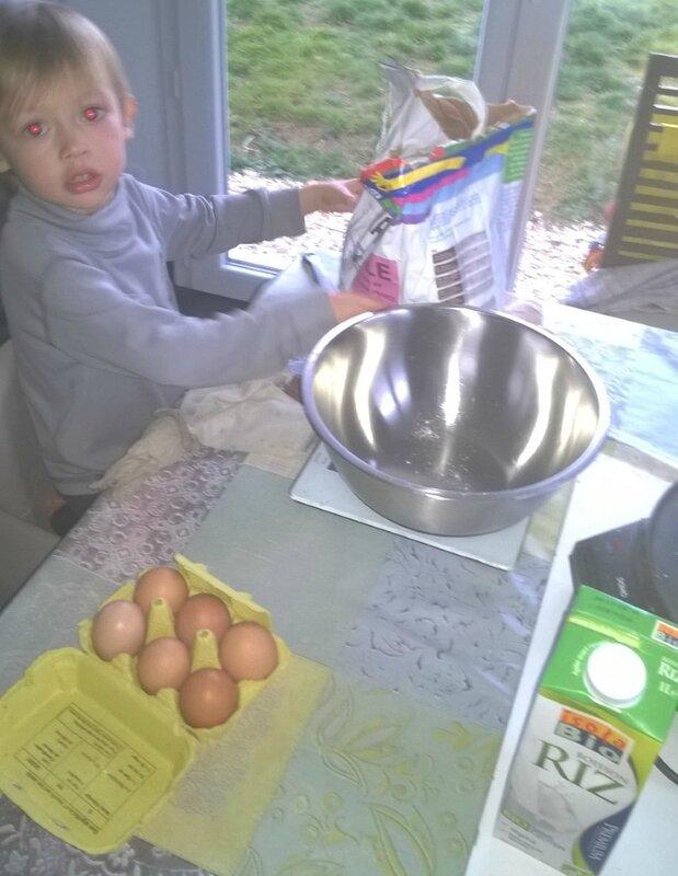 Faire des crêpes