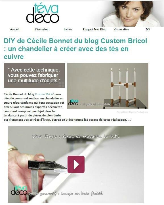Capture DIY chandelier