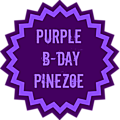 Purple b-day pinezoe !