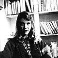 Sylvia plath (1932 - 1963) : lettre d'amour / love letter