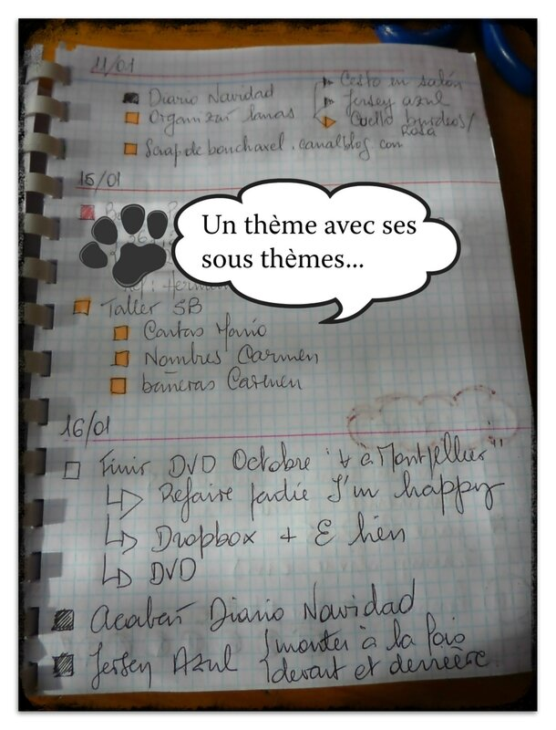 bullet journal traduction
