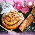 Cinnamon rolls - gâteaux roulés
