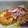 Cakes surimi aux fruits de mer / aux saveurs méridionales