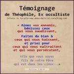 Temoignage de Theophile, ex occultiste