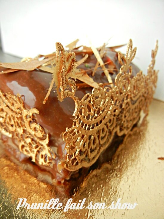 Bûche Or - Défi N°1 Sugar