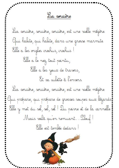 Jeu collectif le sorcier la maternelle de vivi - Le jeux de la sorciere qui fait peur ...