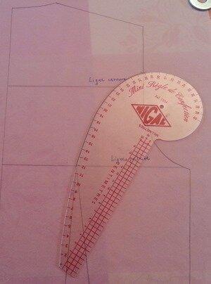 courbe découpe dos