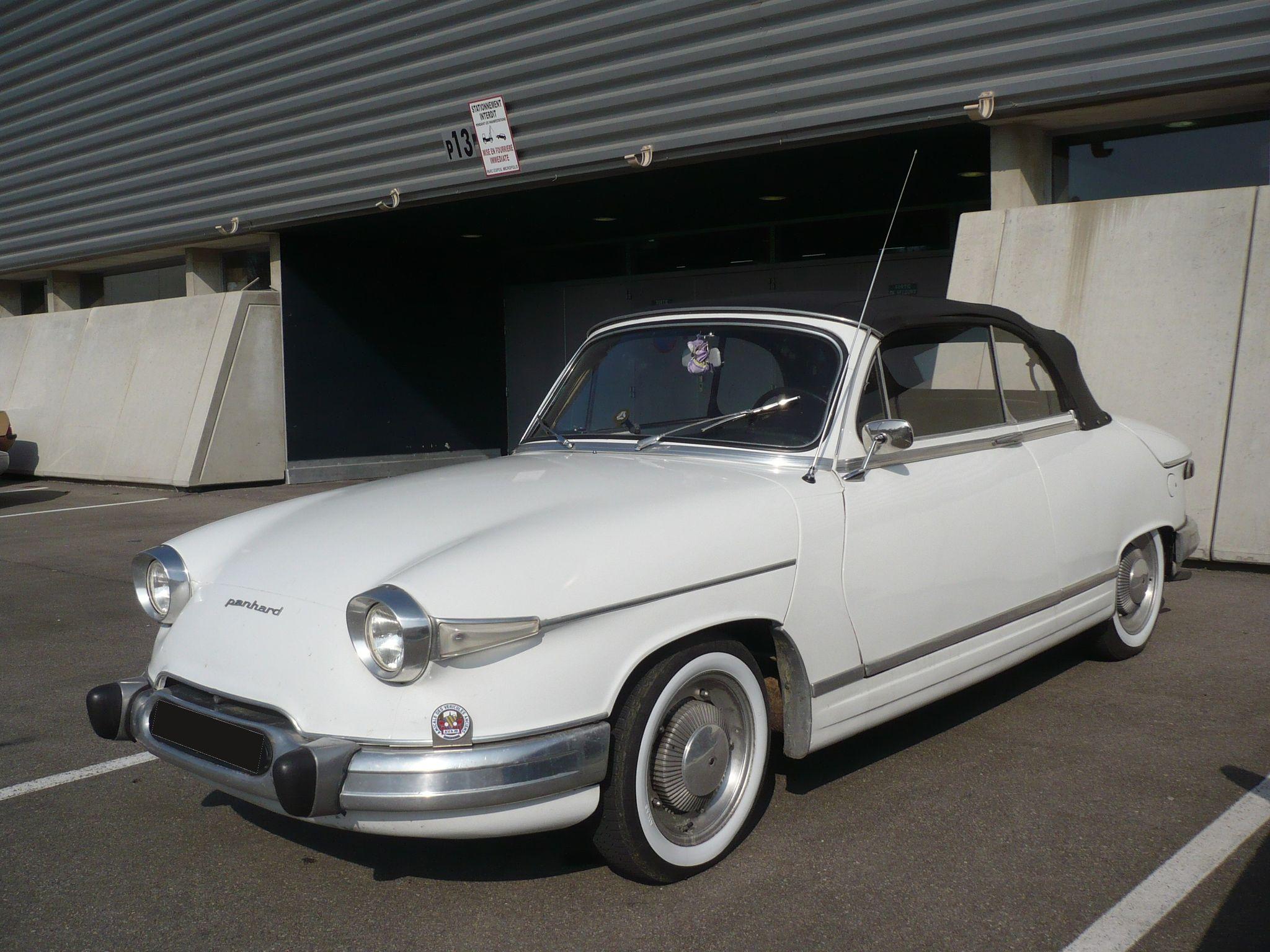 Souvent PANHARD PL17 Tigre cabriolet 1963 Besançon (1) - Photo de 085 - 5e  CF13