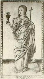 tarot de Mantegna - la foi