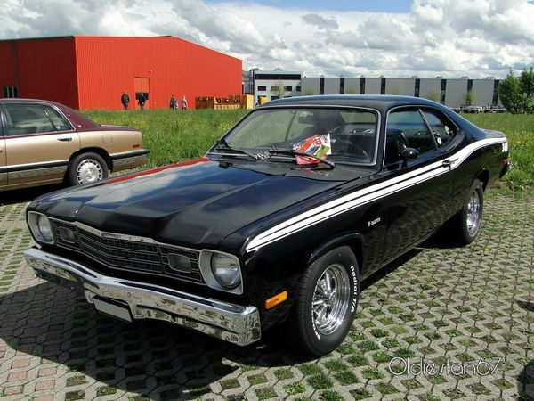plymouth duster 340 fastback coupe 1973 a