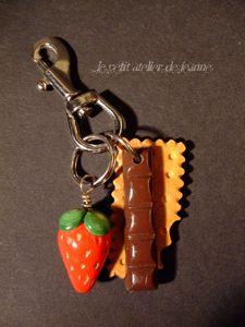 porte clé gourmand 1
