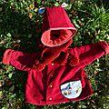 Mon petit chaperon rouge!