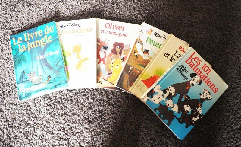 7-collection-livre-walt-disney-ma-rue-bric-a-brac