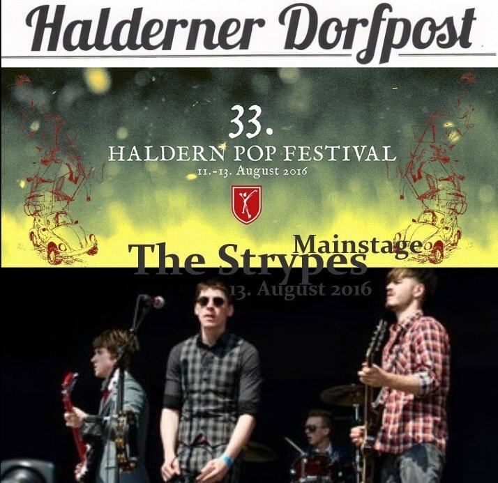 cd The Strypes, Rees-Haldern, Haldern Pop Festival, 13