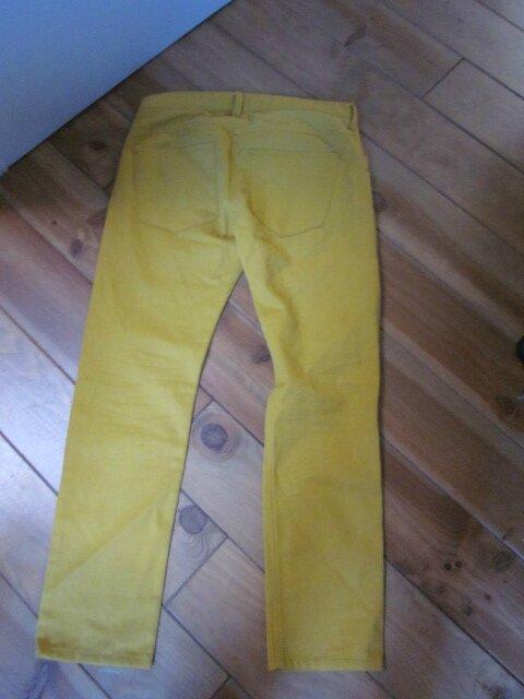 Jean's slim HOMME 4 poches en toile de coton velours