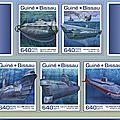 Timbres avec des sous-marins.-05-