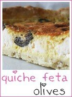 quiche feta - olives noires - index