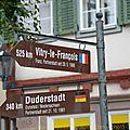 De loisy sur marne en france à tauberbischofsheim en allemagne.