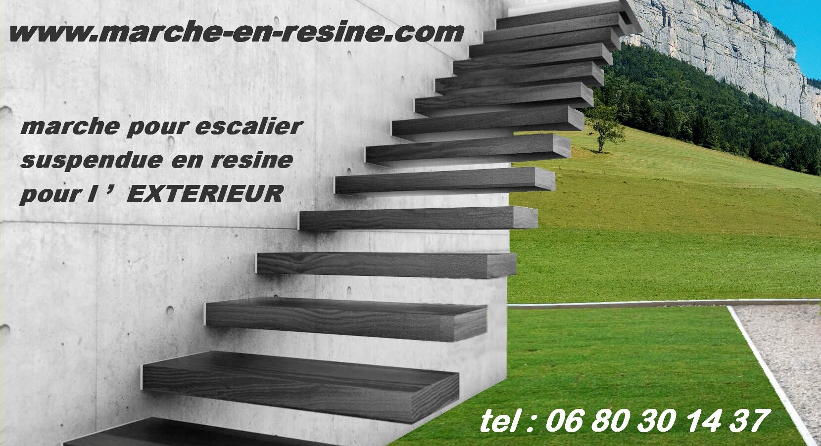 escalier exterieur marche en resine pour exterieur album. Black Bedroom Furniture Sets. Home Design Ideas