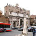Rome, la place du peuple