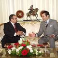 Prince Moulay Rachid and Bahrain Crown Prince Sheikh Salman bin Hamad March 19, 2005