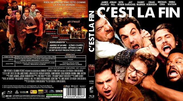 Jaquette C'est la fin ( 2013 )
